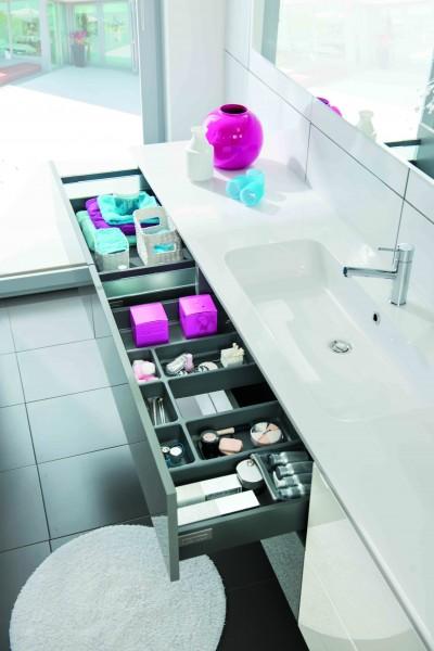 Photos sur le th me meuble lavabo salle de bain page - Compartiment rangement tiroir ...