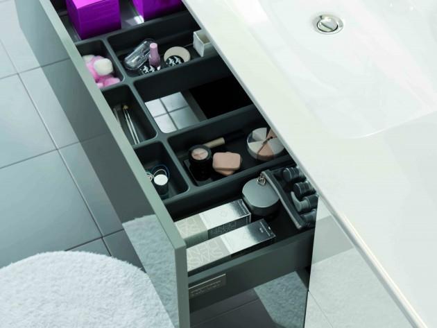 salle de bains strass schmidt tiroir de rangement pour produits de beaut id. Black Bedroom Furniture Sets. Home Design Ideas