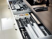 Tiroir de rangement pour ustensiles de cuisine