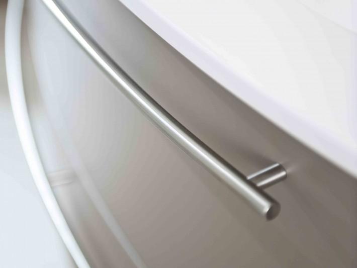 Tiroir de salle de bain marron glacé