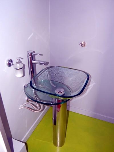 Vasque en verre design
