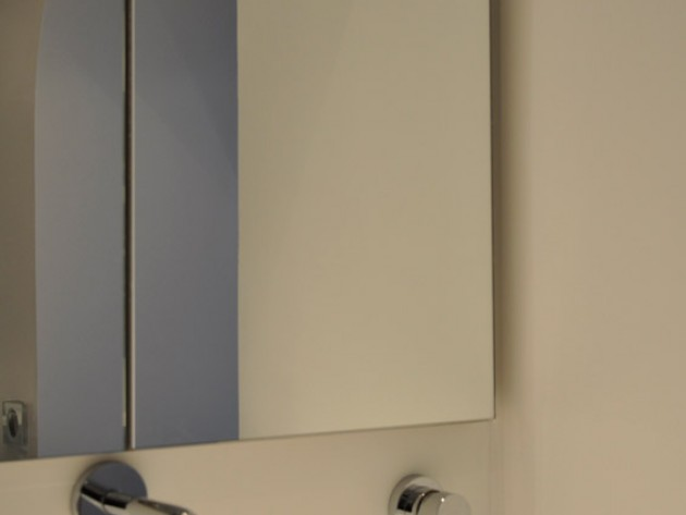 Vasque évier, meuble de rangement avec miroir