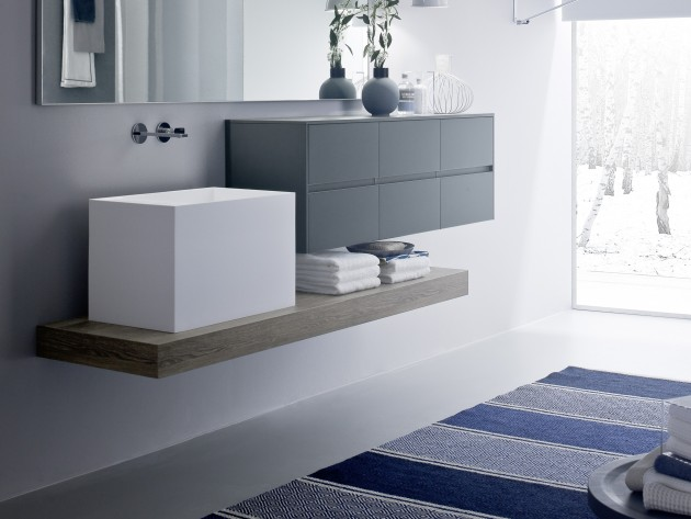 salle de bain modulaire nyu idea group vasque haute id. Black Bedroom Furniture Sets. Home Design Ideas