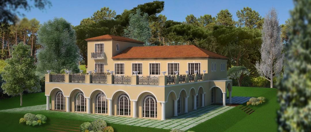 Villa Cap d'Antibes - Insertion sur site