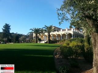 Villa Cap d'Antibes - Réalisation
