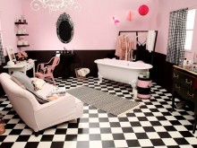 Salle de bain de fille - Marion Alberge