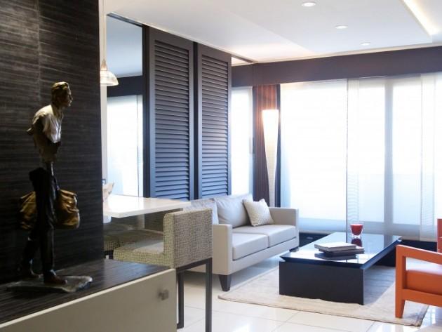 Décoration d'un appartement Parisien