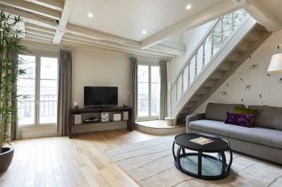 photos sur le th me poutres apparentes blanches id. Black Bedroom Furniture Sets. Home Design Ideas
