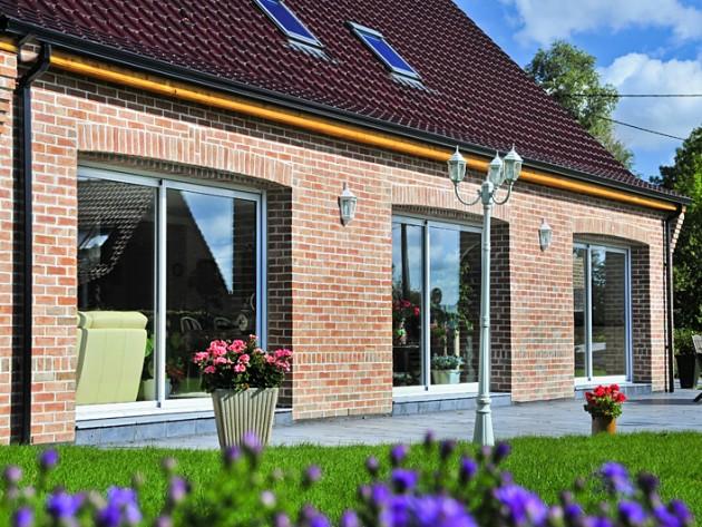 Baies Vitrees Terrasse Avec Accueil Design Et Mobilier