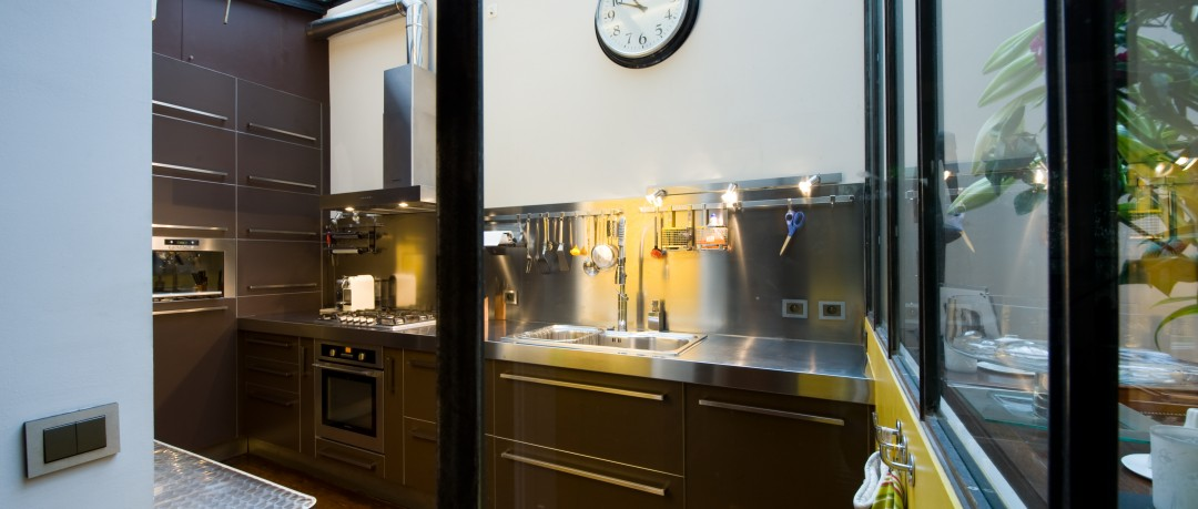 coin cuisine industriel