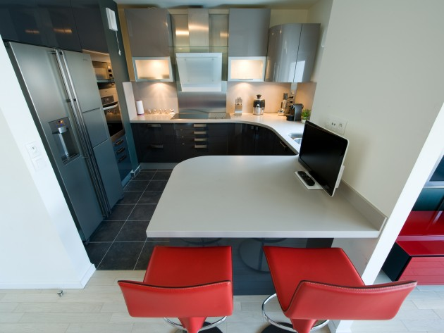 ... > Contemporain > Cuisine moderne et design > cuisine aménagement L