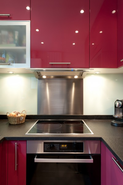 cuisine laqu et granit skconceptparis id. Black Bedroom Furniture Sets. Home Design Ideas