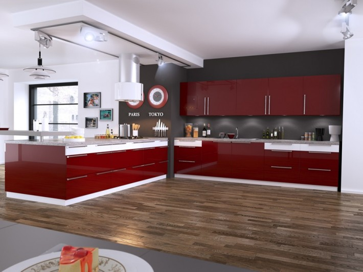 Cuisines int gr es cuisines ven oises cuisine moderne for Equipement cuisine moderne