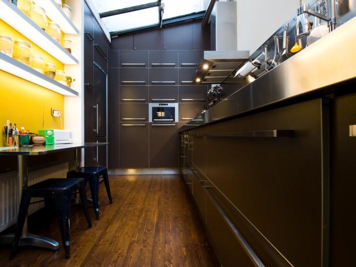cuisine design industriel fa ade tiroir cuisine type industriel id. Black Bedroom Furniture Sets. Home Design Ideas