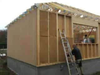 isolation des murs en ossature bois