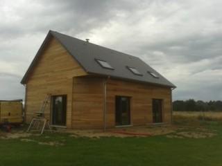 maison construite en ossature bois