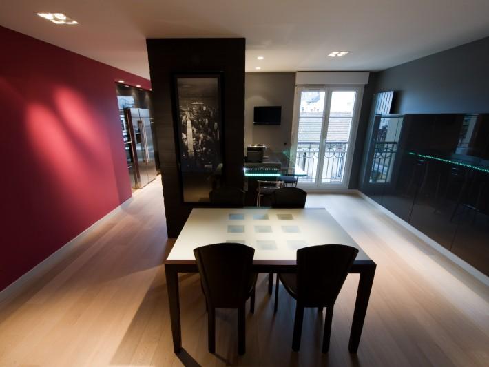 salle à mangé cuisine ouverte