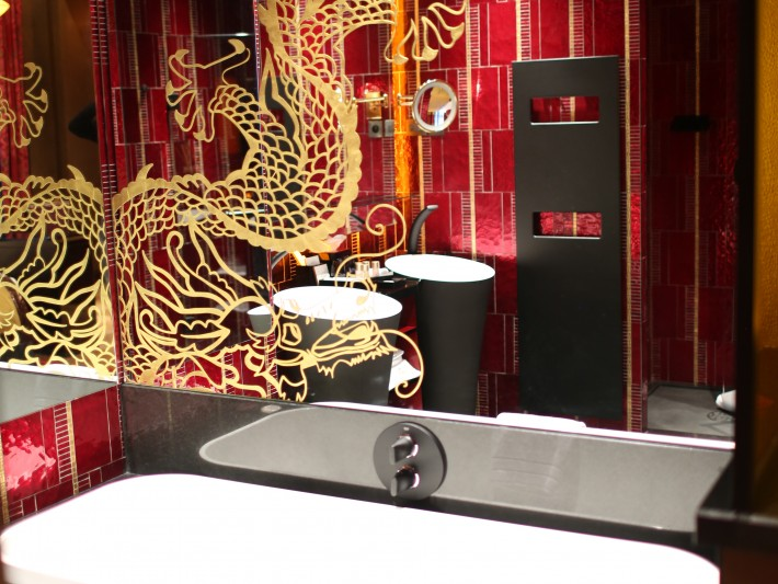salle de bain Hôtel Buddha