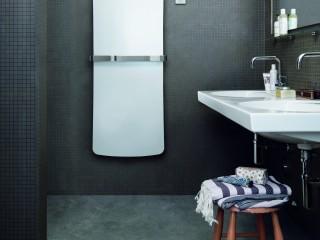 salle de bain avec carrelage mosaique