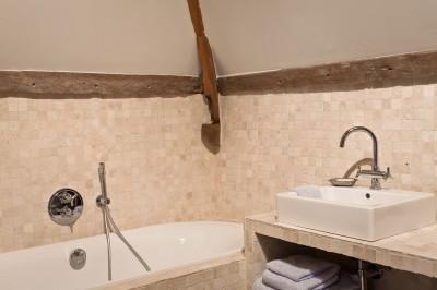 salle de bain carrelage mosaique