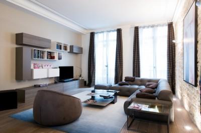 photos sur le th me salon contemporain id. Black Bedroom Furniture Sets. Home Design Ideas