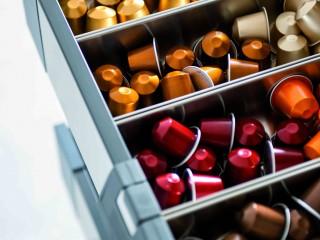 tiroir de rangement pour capsules à café