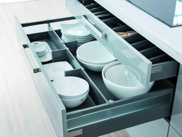 Cuisine strass cloud schmidt tiroir de rangement pour - Rangement vaisselle cuisine ...