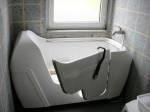 Choisir sa baignoire à porte