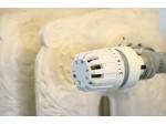 Autour du radiateur en fonte