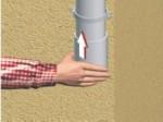 Eaux pluviales : remplacer un tuyau de descente PVC