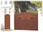 Devis portail : fourniture et installation
