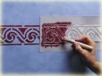 Techniques pour peintures à effets