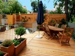 Devis Construction et pose de terrasse en bois