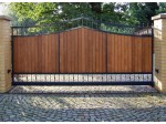 Devis portail bois : fourniture et installation