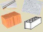 Choix des matériaux pour construire, cloisonner et isoler