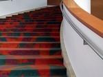 Moquette d'escalier