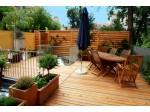 Toiture terrasse en bois