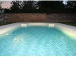 L'éclairage de la piscine