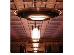 L'éclairage du plafond