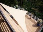 Terrasse en bois sur plots