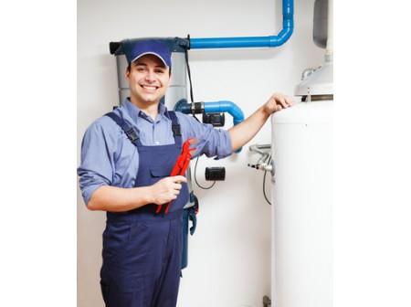 Autour du chauffe-eau à gaz
