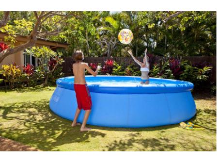 Comment installer une piscine autoportée ronde?