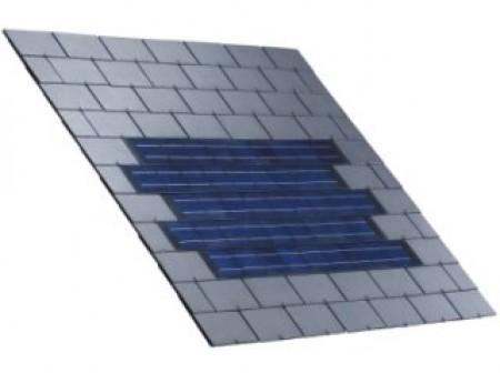 Ardoise photovoltaïque