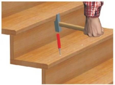 r parer un escalier qui craque r parer et r nover. Black Bedroom Furniture Sets. Home Design Ideas