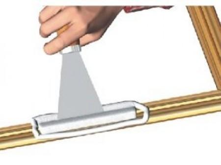 Réparer une moulure de cadre