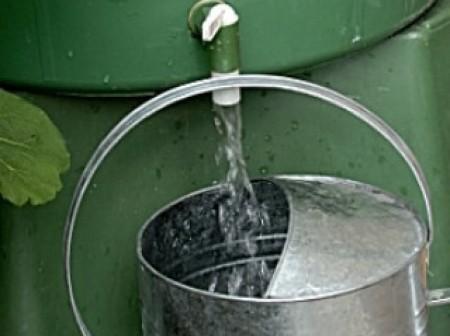 Cuve ou réservoir d'eau de pluie