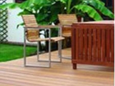 La terrasse bois