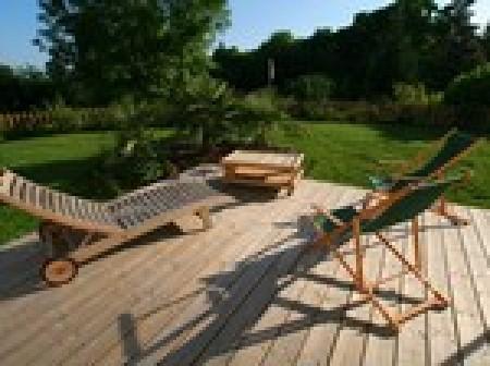 Poser Une Terrasse En Bois Clips  Extrieur  IdesmaisonCom