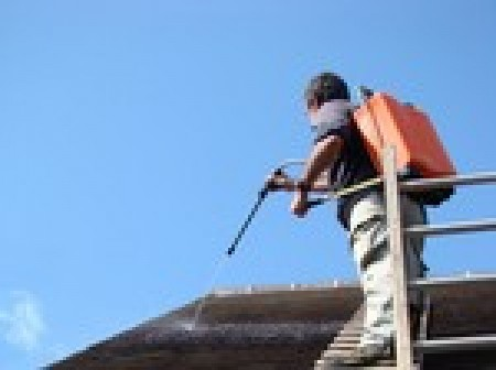 Nettoyage de toiture