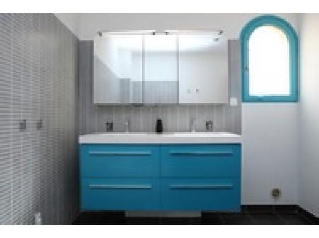 Meuble évier salle de bain